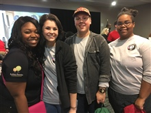 ABLE members participate in a service project at the 2017 New York State AmeriCorps Kickoff event.