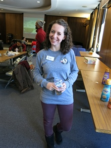 An AmeriCorps member poses for a photo.